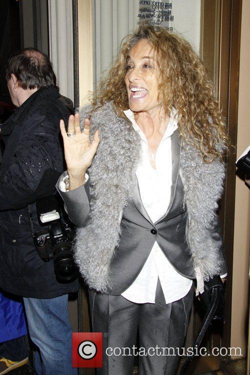Ann Dexter Jones Opening night of the Broadway...