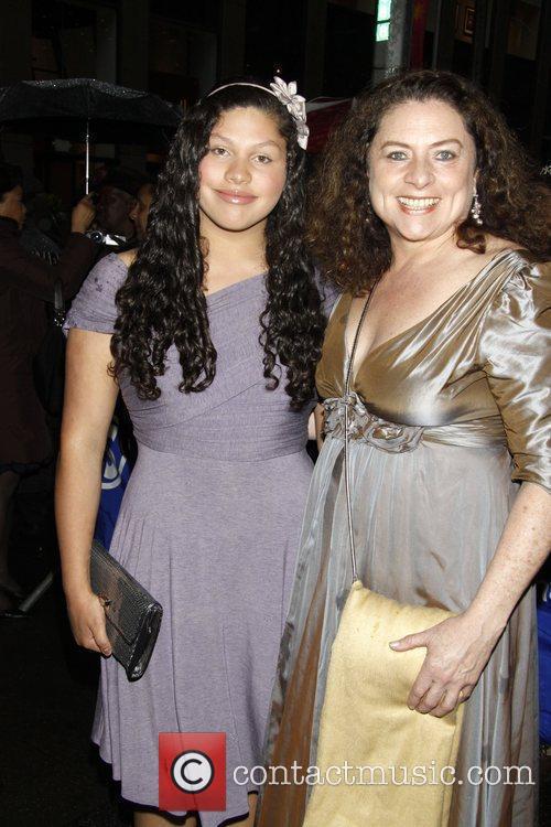 Azula Wilson and Costanza Romero  Opening night...