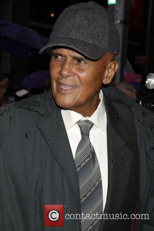 Harry Belafonte  Opening night of the Broadway...