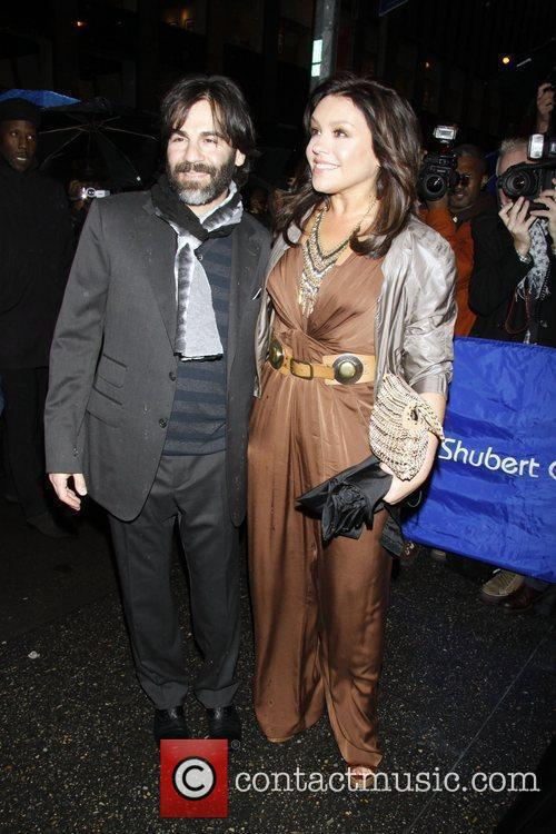 John Cusimano and Rachael Ray Opening night of...