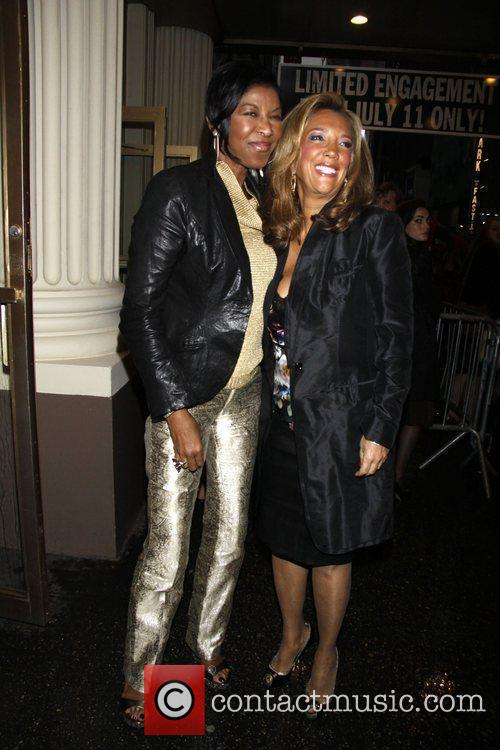 Natalie Cole and Denise Rich Opening night of...