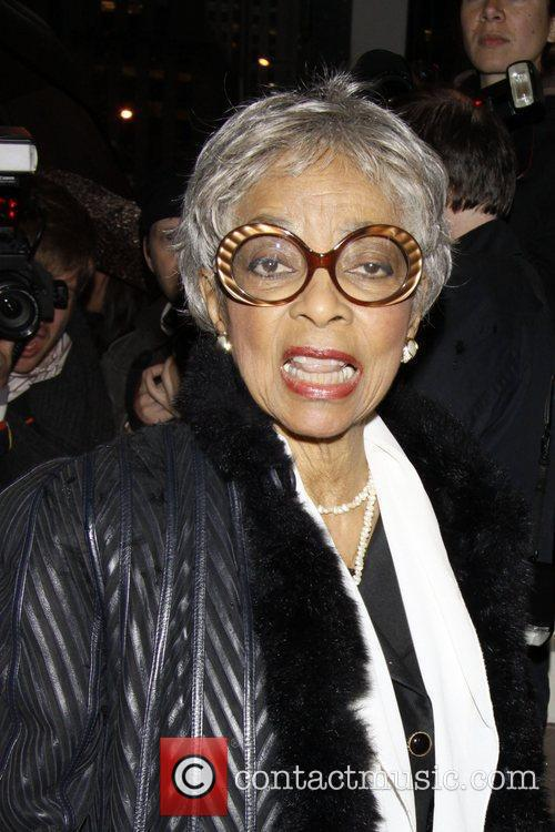 Ruby Dee  Opening night of the Broadway...