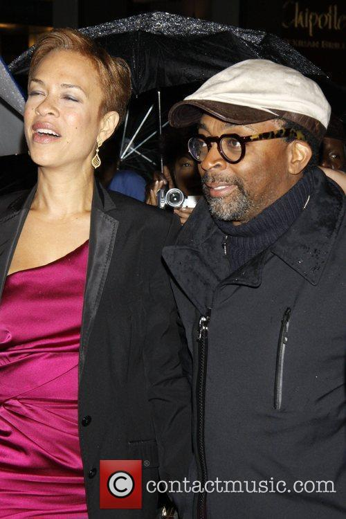 Spike Lee Opening night of the Broadway production...