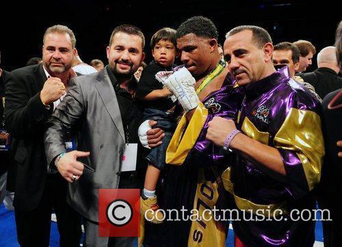 Promoter Juan Perez, Ahmet Oener, WBC Heavyweight champion...