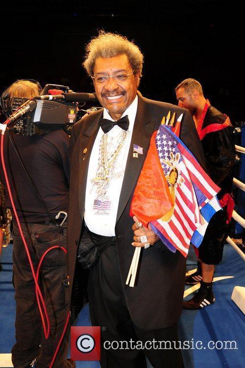 Don attends the WBC World Heavyweight final championship...