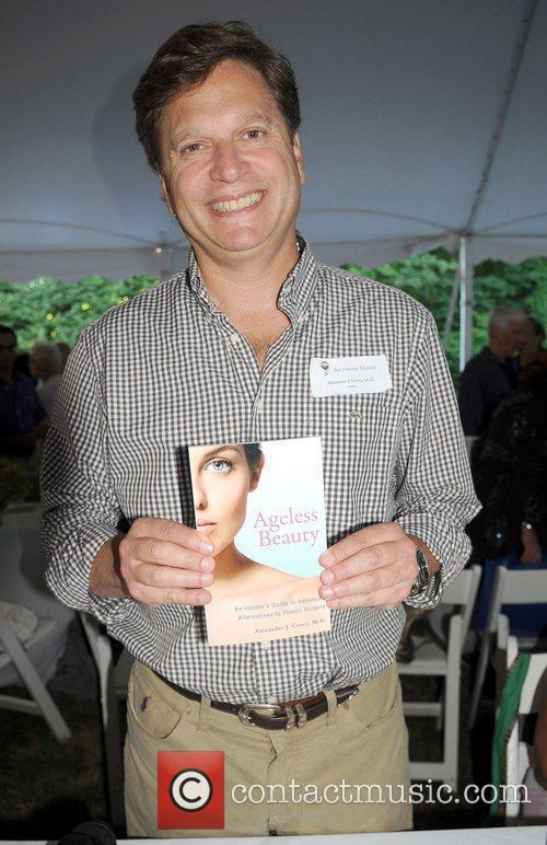 Author Dr. Alexander Covey attends the '2010 Authors...