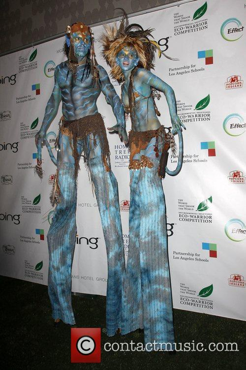 'Avatars' Neytiri and Na'vi  The 'Avatar' Cast...