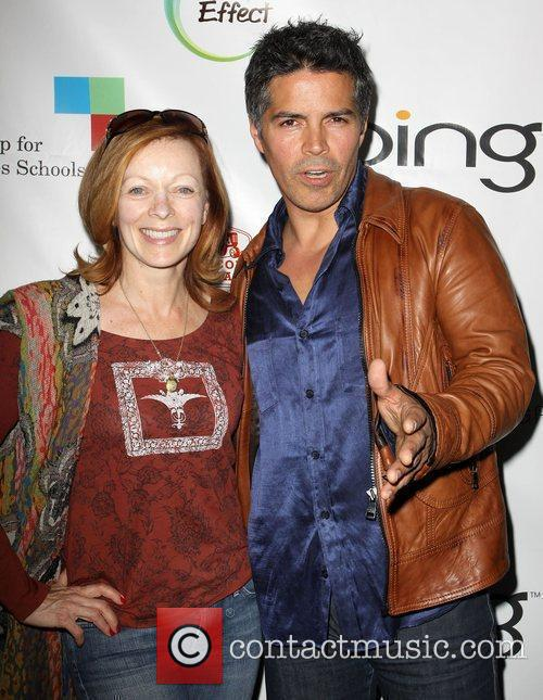 Frances Fisher and Esai Morales 4