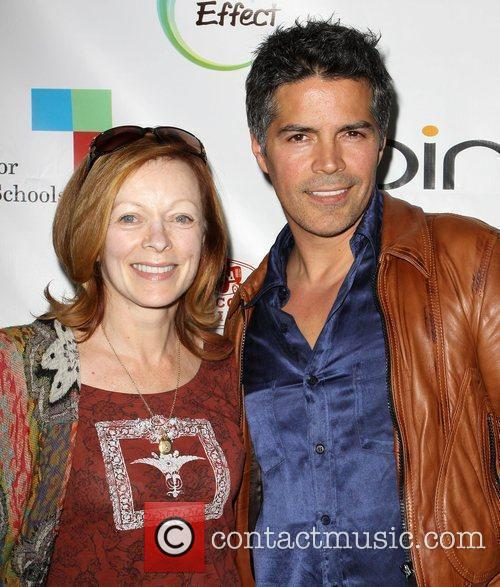 Frances Fisher and Esai Morales 1