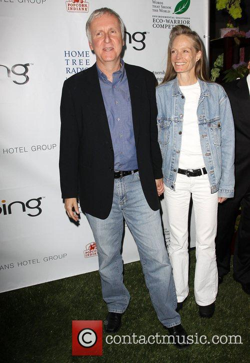 James Cameron and Suzy Amis 3