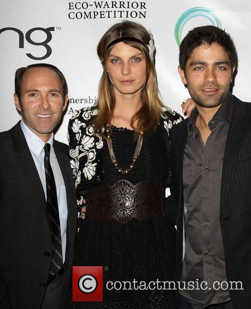 Peter Glazer, Andrea Lindvell and Adrian Grenier The...