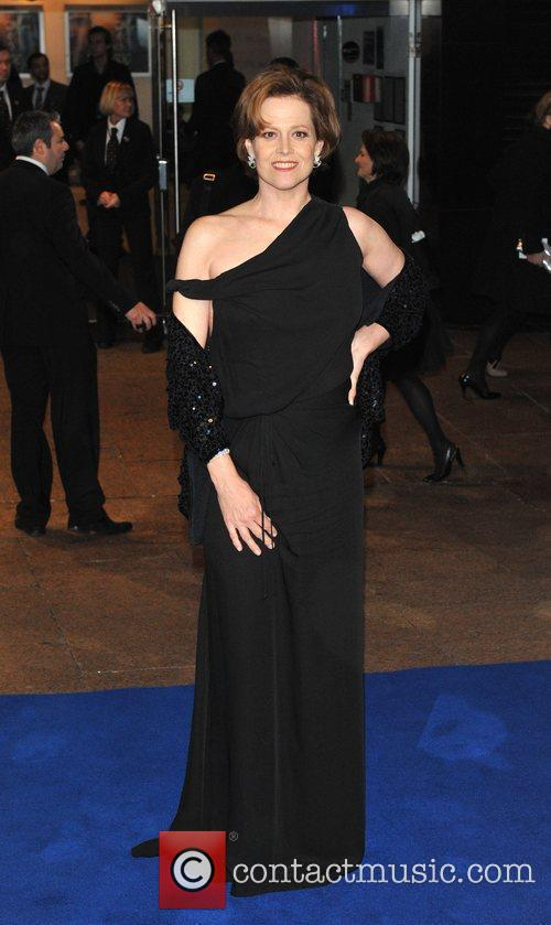 Sigourney Weaver Avatar - UK film premiere held...