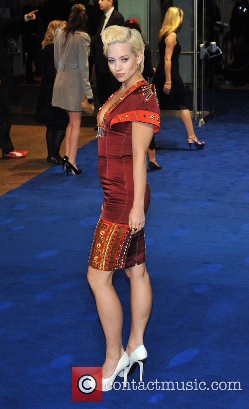 Kimberly Wyatt Avatar - UK film premiere held...