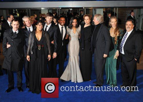 Zoe Saldana, James Cameron, Sam Worthington and Sigourney Weaver 6