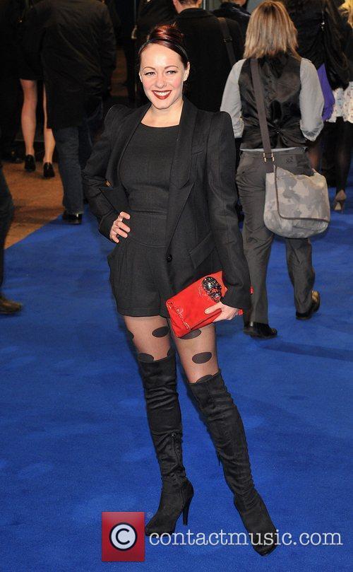 Sarah Cawood Avatar - UK film premiere held...