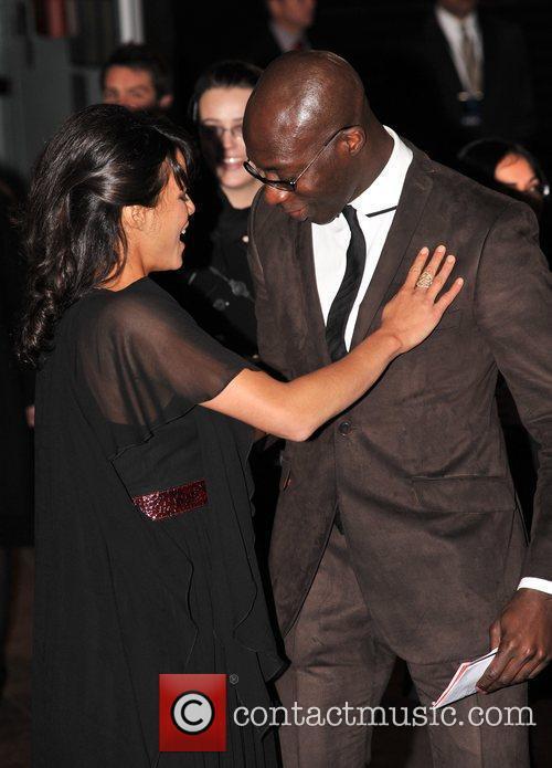 Michelle Rodriguez and Oswald Boateng Avatar - UK...
