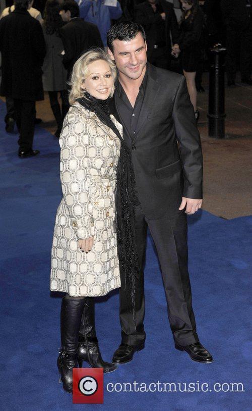 Joe Calzaghe & Kristina Rihanoff the world premiere...