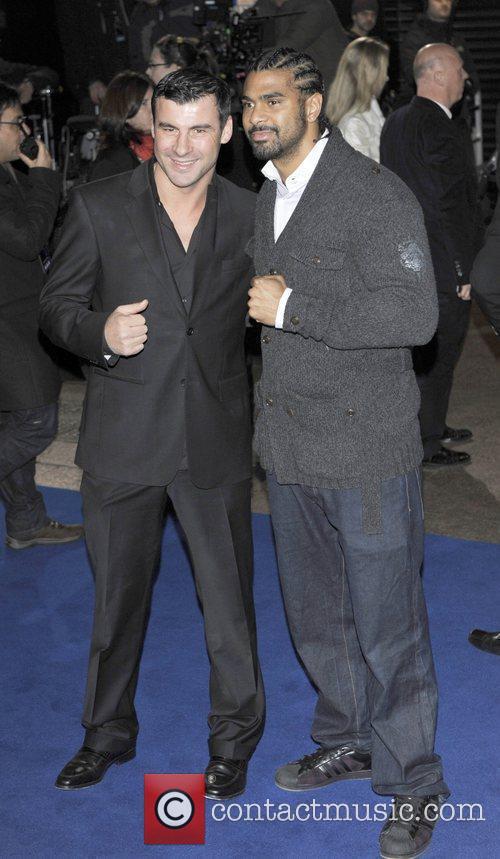 Joe Calzaghe & David Haye the world premiere...