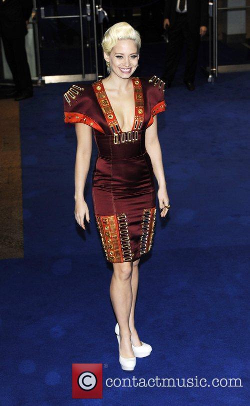 Kimberly Wyatt the world premiere of 'Avatar' at...