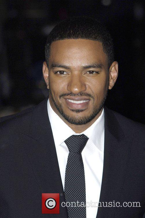 Laz Alonso the world premiere of 'Avatar' at...