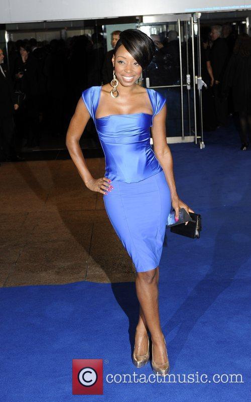 Sabrina Washington the world premiere of 'Avatar' at...