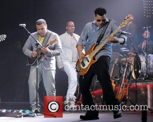 Lenny Santos,Anthony Romeo Santos, and Max Santos...