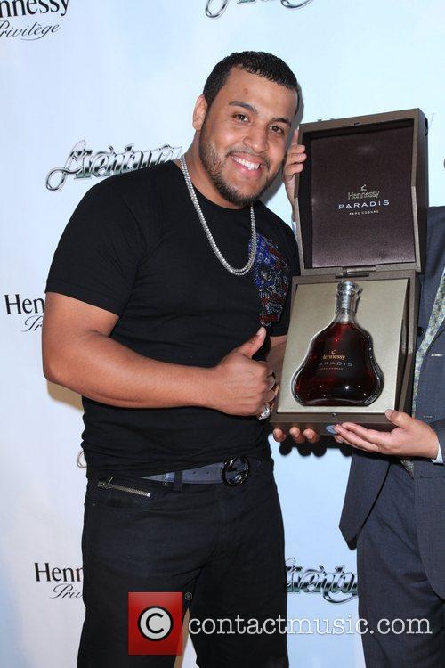Aventura member Lenny Santos  Aventura And Hennessy...