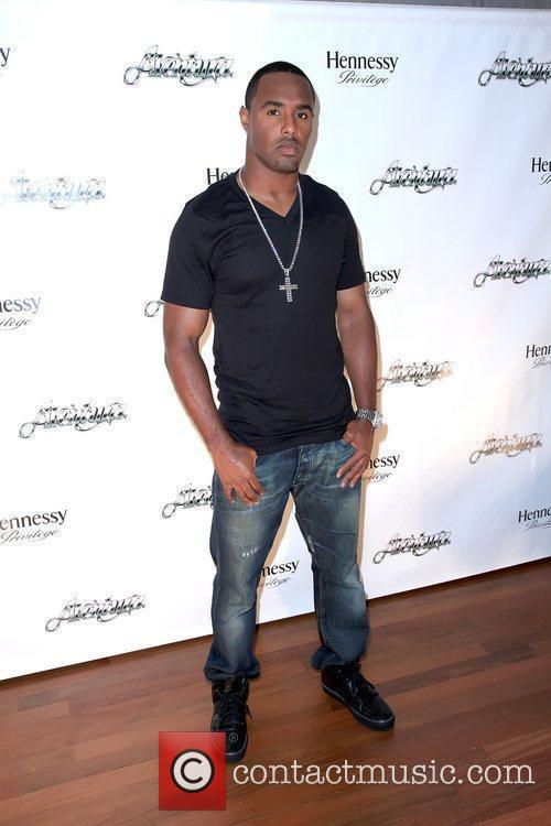 NFL player Leigh Bodden Aventura And Hennessy Privilege...
