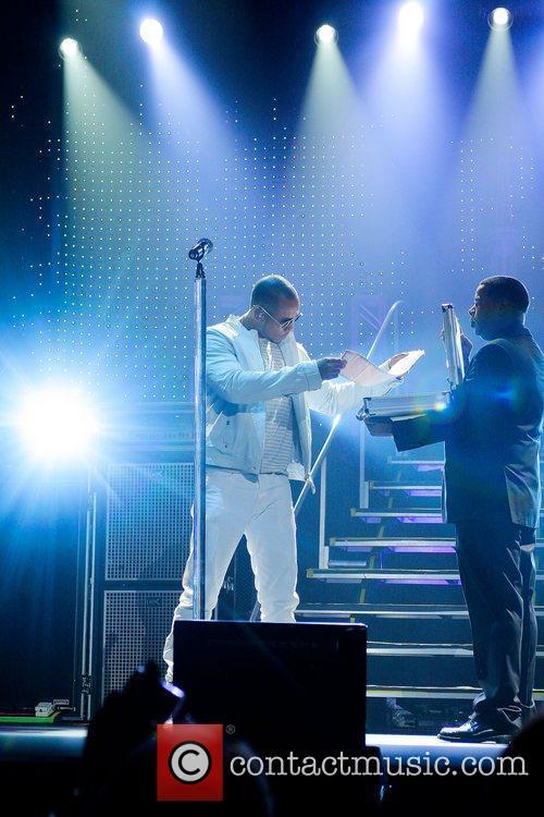 Romeo of Aventura performs at Hard Rock Live...