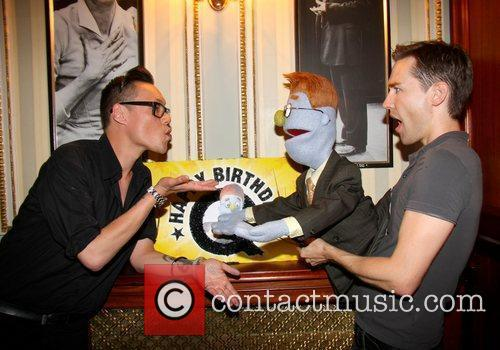 'Avenue Q' 4th Anniversary party at Wyndhams Theatre