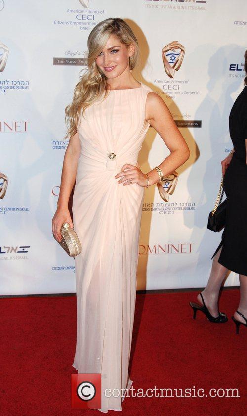 Christina Collard CECI Gala honoring Film Producer Avi...