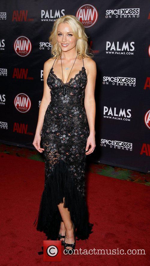 Kayden Kross The 2010 AVN Awards held at...