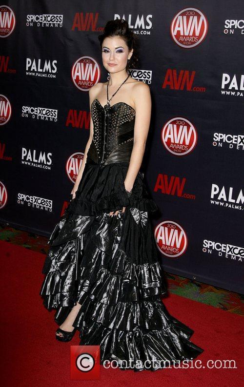 Sasha Grey The 2010 AVN Awards held at...