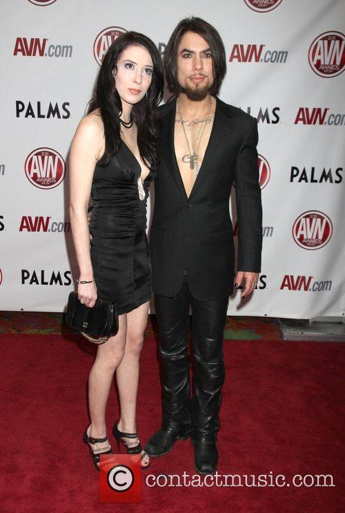 Aiden Ashley and Dave Navarro The AVN Awards...
