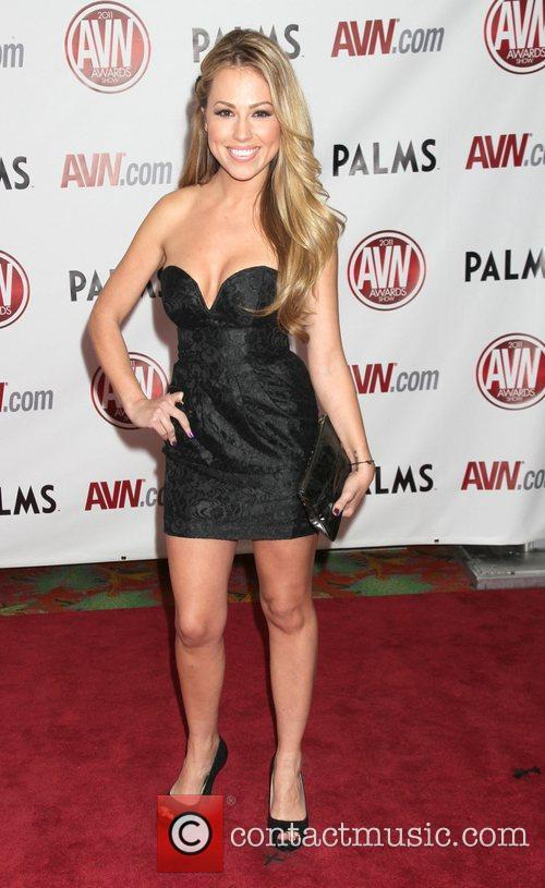 Jessica Hall The AVN Awards 2011 held at...
