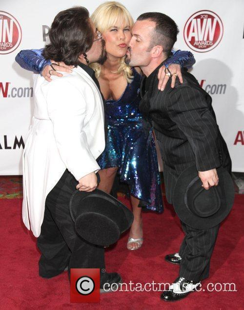 Sunset Thomas The AVN Awards 2011 held at...