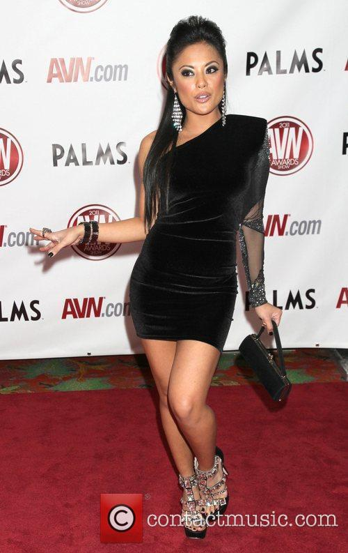Kaylani Lei The AVN Awards 2011 held at...