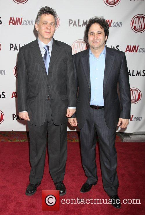 Paul Fishbein and George Maloof The AVN Awards...
