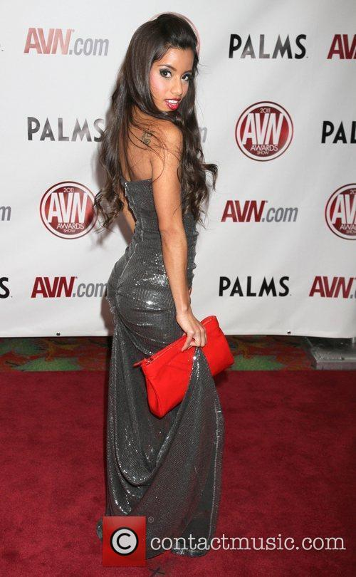 Lupe Fuentes The AVN Awards 2011 held at...