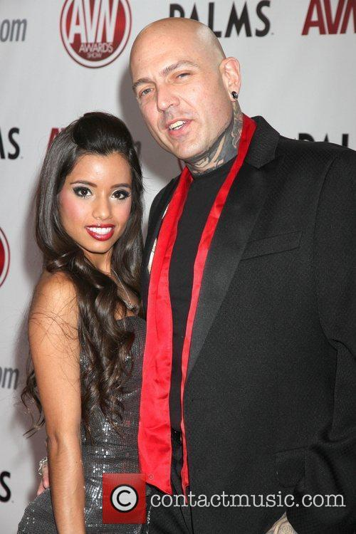 Lupe Fuentes and Evan Seinfeld The AVN Awards...