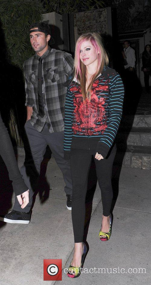 Avril Lavigne and Brody Jenner 5