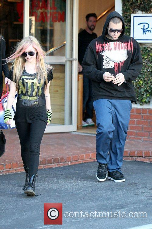 Avril Lavigne, Brody Jenner and Fred Segal 9