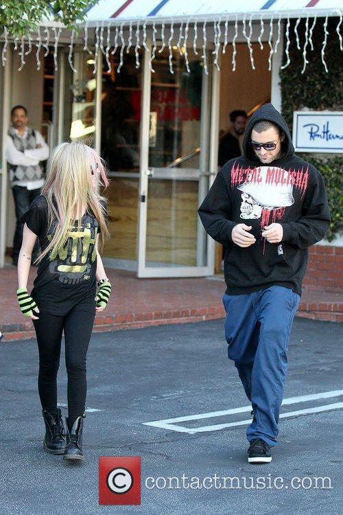 Avril Lavigne, Brody Jenner and Fred Segal 10
