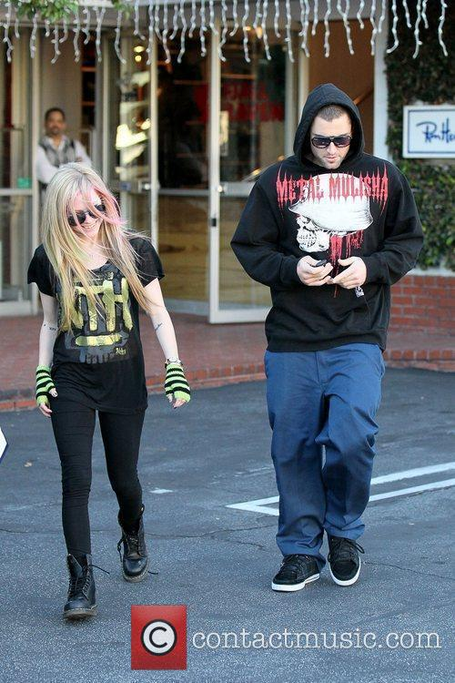 Avril Lavigne, Brody Jenner and Fred Segal 12
