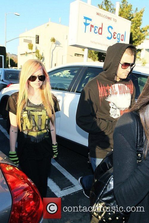 Avril Lavigne, Brody Jenner and Fred Segal 6