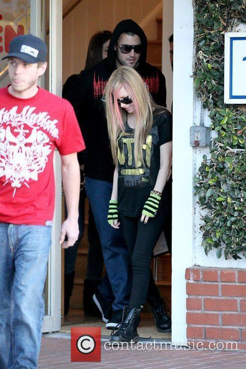 Brody Jenner, Avril Lavigne and Fred Segal 1