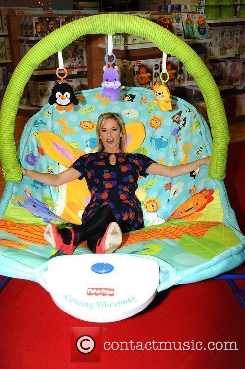 Tamzin Outhwaite The Baby Show at Earls Court...