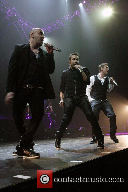 A. J. McLean, Howie Dorough and Nick Carter...