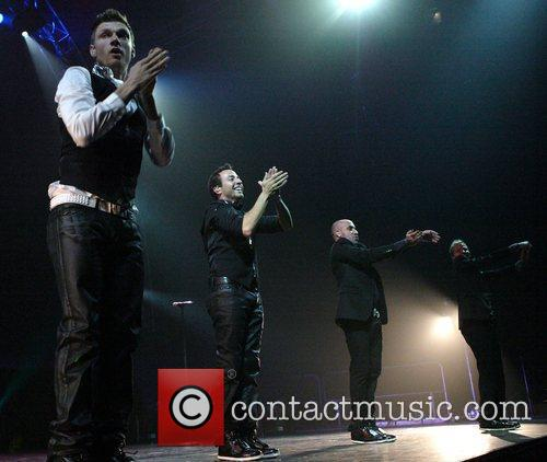 Nick Carter, Howie Dorough, A. J. McLean and...