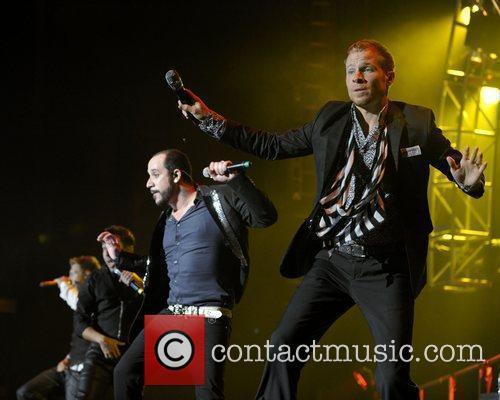 A.j. Mclean (l), Backstreet Boys and Brian Littrell 3